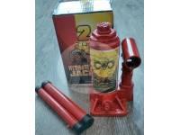 Домкрат бутылочный HYDRAULIC JACK грузоподъемность 2 тонны