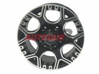 Диск колесный литой GRANITE черно-серебристый 16x8 5X139.7 d108 ET 0 PDW